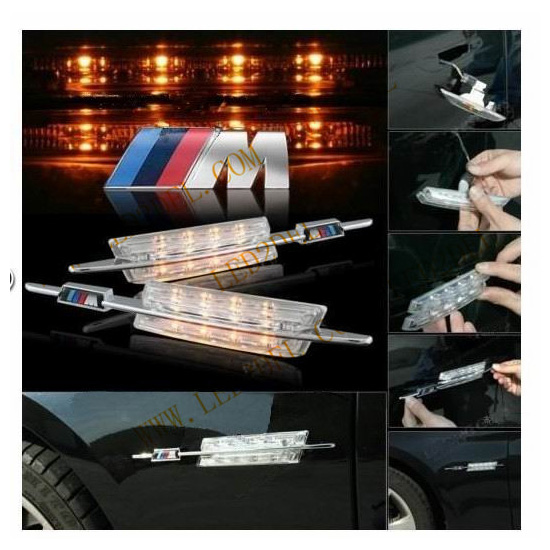 LED Side Marker signal FOR BMW E46 Facelift with M