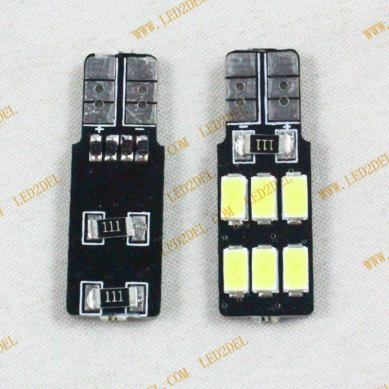 194 W5W canbus LED T10 6smd 5630 one sided