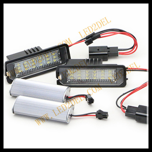 golf 5 6 led number plate light lamp